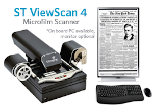 ST View Scan 4 Microfilm Scanner