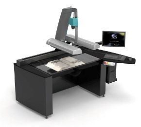 i2S SupraScan Quartz A1 Large Format Book Scanner