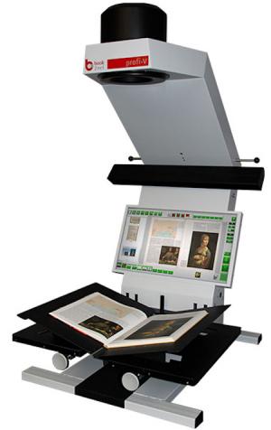 Book2net Kiosk Public V A2 Book Scanner