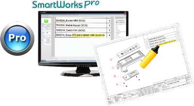 SmartWorks Pro for ColorTrac Software